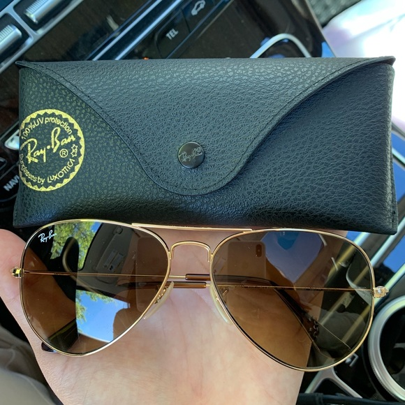 Ray-Ban Accessories - Authentic Ray Ban Aviators - 58